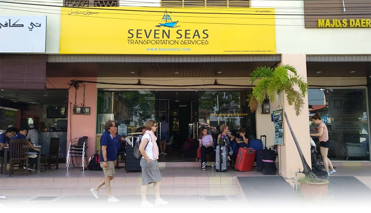 Our office at Kuala Besut to Perhentian Island - Seven Seas