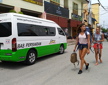 Van from Kota Bharu Airport to Kuala Besut