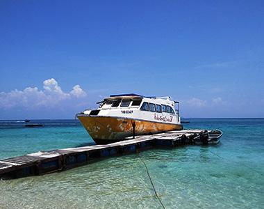 Jeti ke Pulau Perhentian dari Jeti Kuala Besut