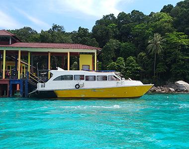 Bot ke Pulau Perhentian